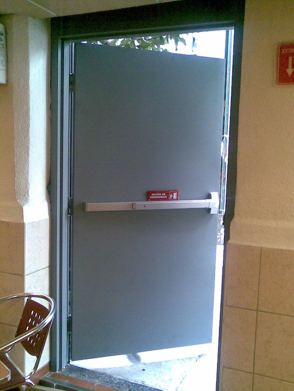 La implementación de las puertas contra incendio