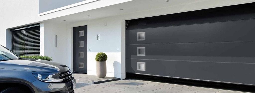 Principales tipos de puertas de garaje