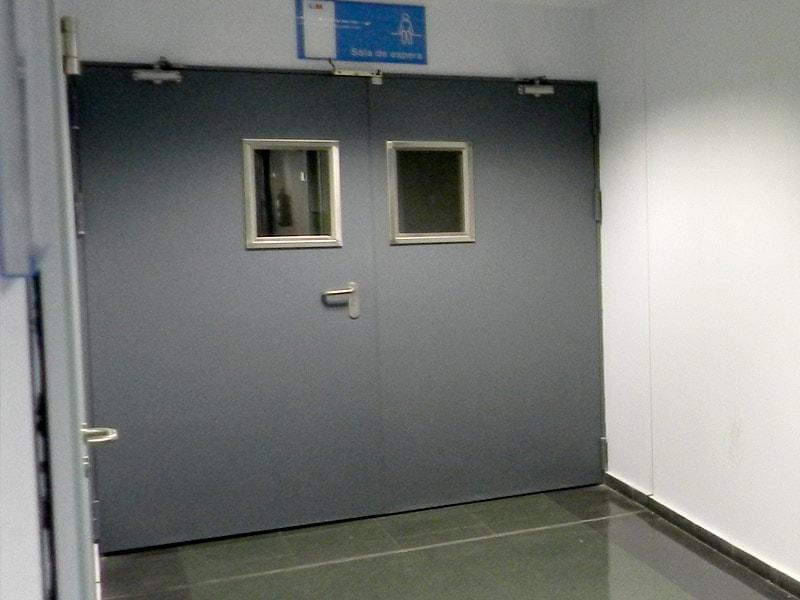 Puertas contra incendio automatiza for Puertas contra incendios
