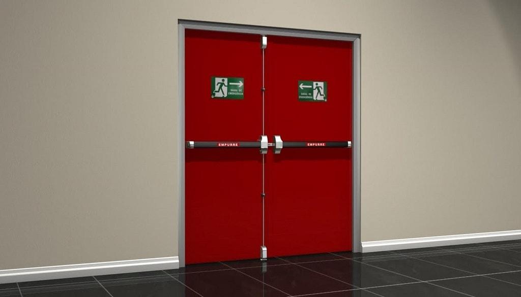 Áreas de aplicación de las puertas contra incendio