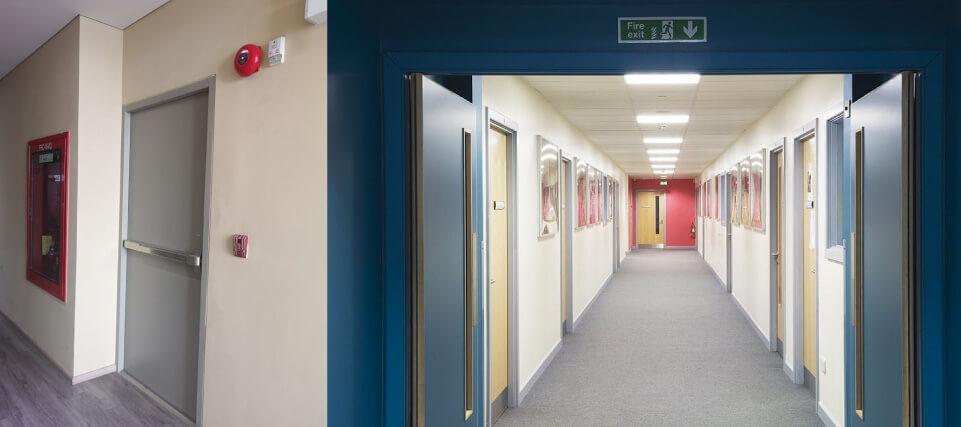 ¿Por qué instalar puertas contra incendio en su edificio?