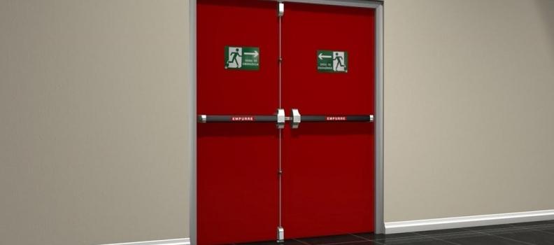 Características de las puertas contra incendio. Parte I