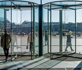 ¿Qué componentes se necesitan para automatizar la puerta de cristal de su negocio?