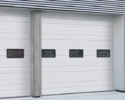 ¿Cómo reparar las ligeras abolladuras de las puertas de garaje?